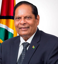 Hon. Prime Minister & First Vice-President of The Co-operative Republic of Guyana, Moses Nagamootoo, MP