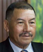 Hon. Sydney Allicock, MP, <br /> Fourth Vice President &amp; Minister of Indigenous People's Affairs of The Co-operative Republic of Guyana