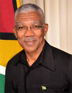 His Excellency President of The Co-operative Republic of Guyana, Brigadier David A. Granger